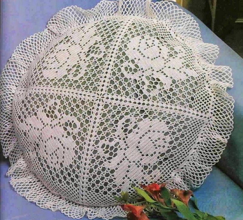 Encontrá 15 hermosos patrones de almohadas tejidas al crochet ...