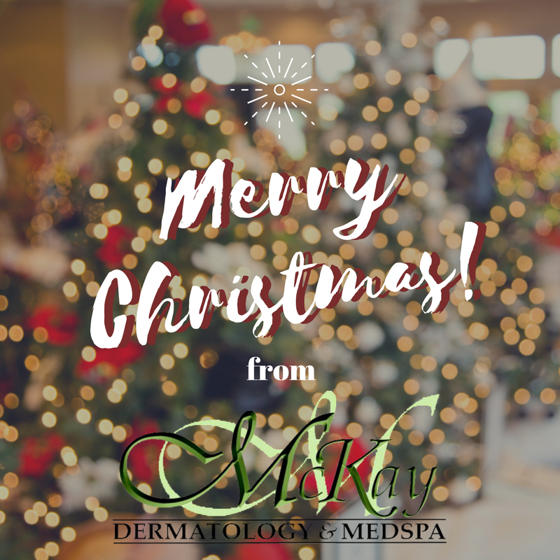 Merry Christmas From Mckay Dermatology The Office Is Closed Today But We Hope You Are Enjoying Every Moment With The Ones Y Dermatology Skin Care Close Today