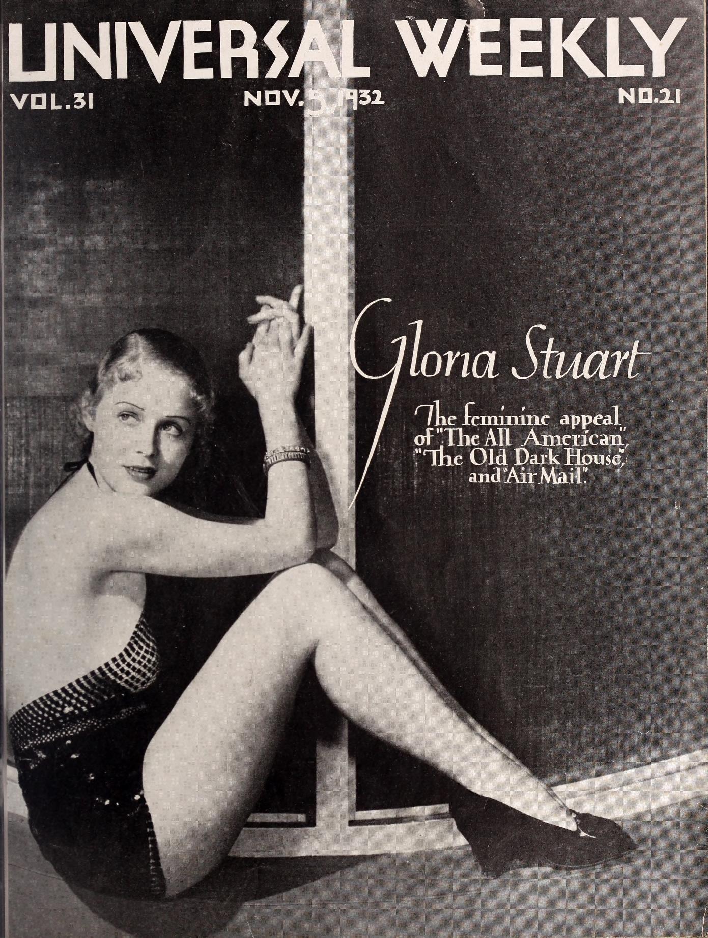 "Gloria Stuart The feminine appeal of ""The All American"
