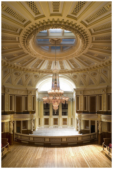 Small Concert Room At St Georges Hall St Georges Hall St George S Hall Liverpool Liverpool Uk