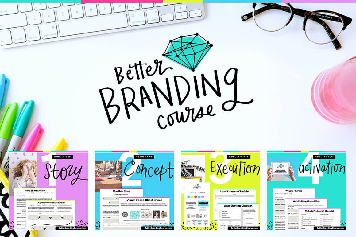 Better Branding Course Video Lessons Worksheets