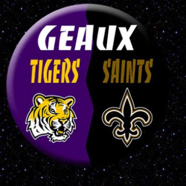Geaux Tigers Saints Lsu Tigers Football Geaux Tigers Football Team Spirit