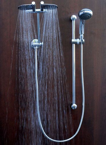 Finally Two People Can Shower Without Getting Cold Shower Heads