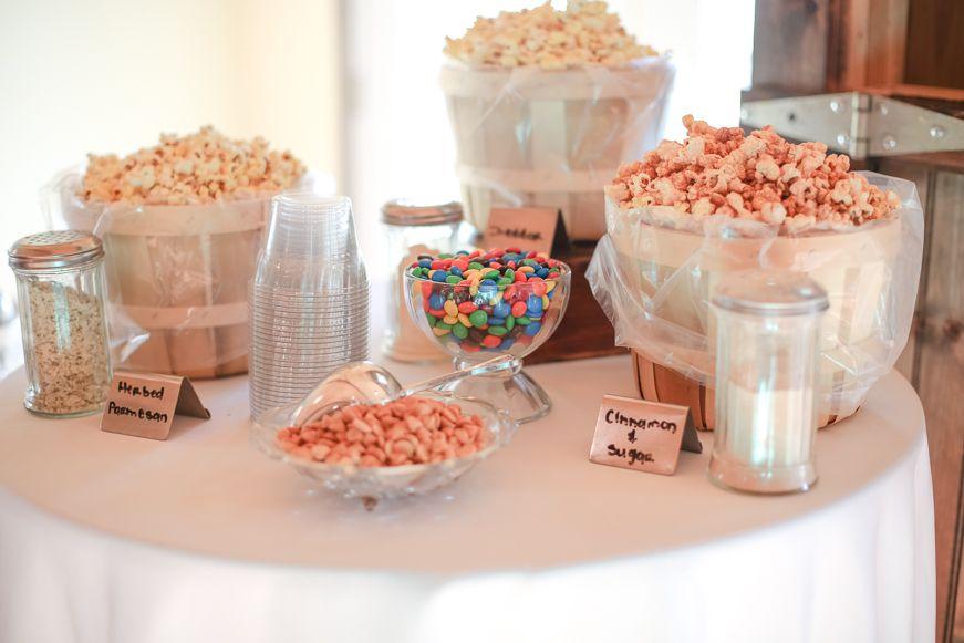 Bridal Shower Food Idea Popcorn Bar Bridal Shower Food