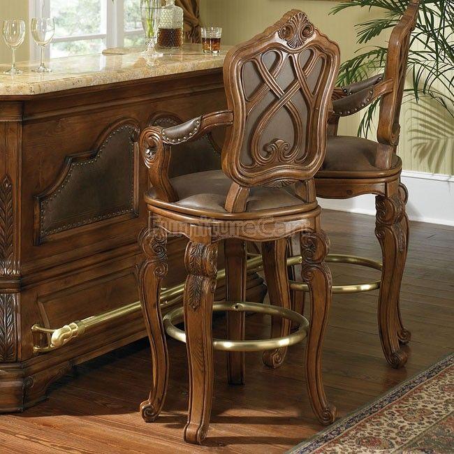 Tuscano Swivel Barstool In 2020 Dining Chairs Upholstered Dining Chairs Solid Wood Dining Chairs