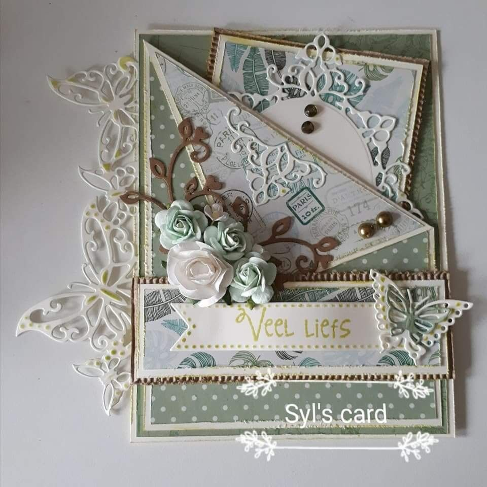 Paper Craft Christmas Card Ideas Part - 25: Shabby Chic Cards, Happy Birthday Cards, Cardmaking, Paper Crafts, Card  Ideas, Scrapbooking, Design Cards, Handmade Crafts, Christmas Cards