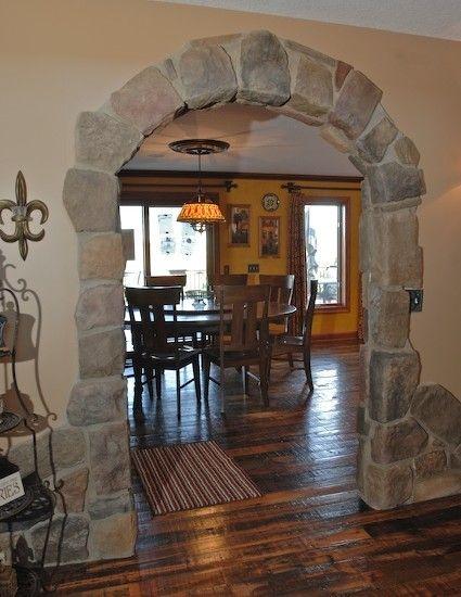 Arch Design Ideas : design, ideas, Tucker, Decorating, Ideas, Stone, Doorway,, Archways, Homes,, Doorway, Decor