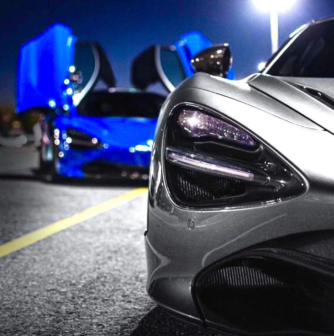 177 Likes, 0 Comments McLaren 720SParis Blue (f1_dna