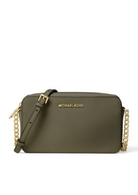af197f3c63dd Michael Michael Kors Jet Set Travel Medium Ew Crossbody - Olive - One Size