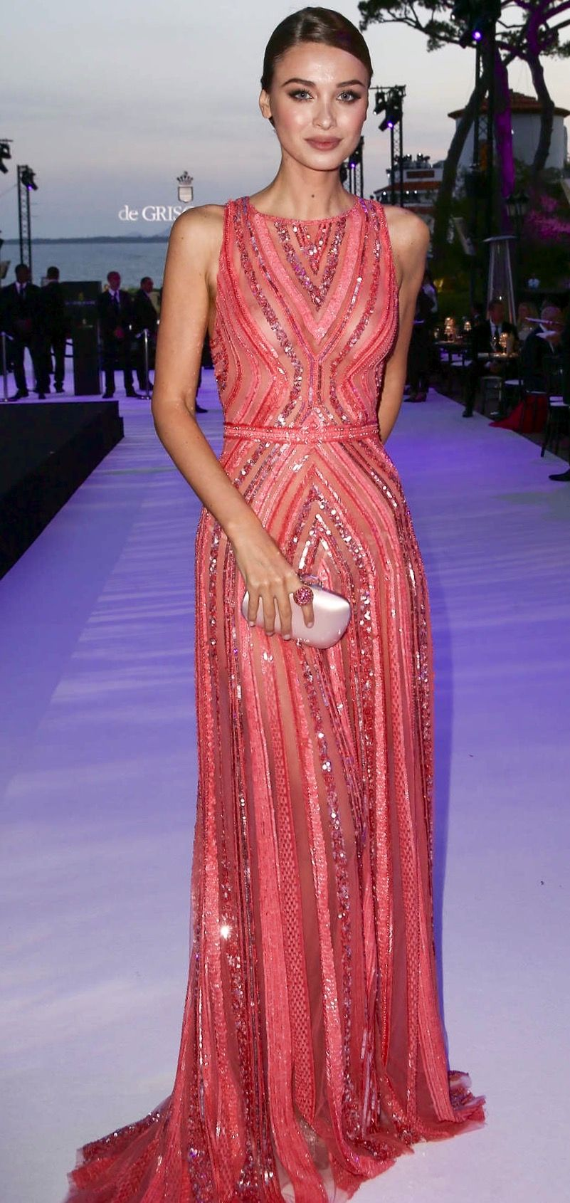 Lara Lieto in Zuhair Murad | Fancy-Schmancy | Pinterest | Vestiditos ...