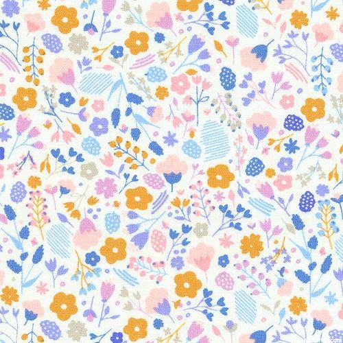 Floral Splendor - Floral Imagination - White