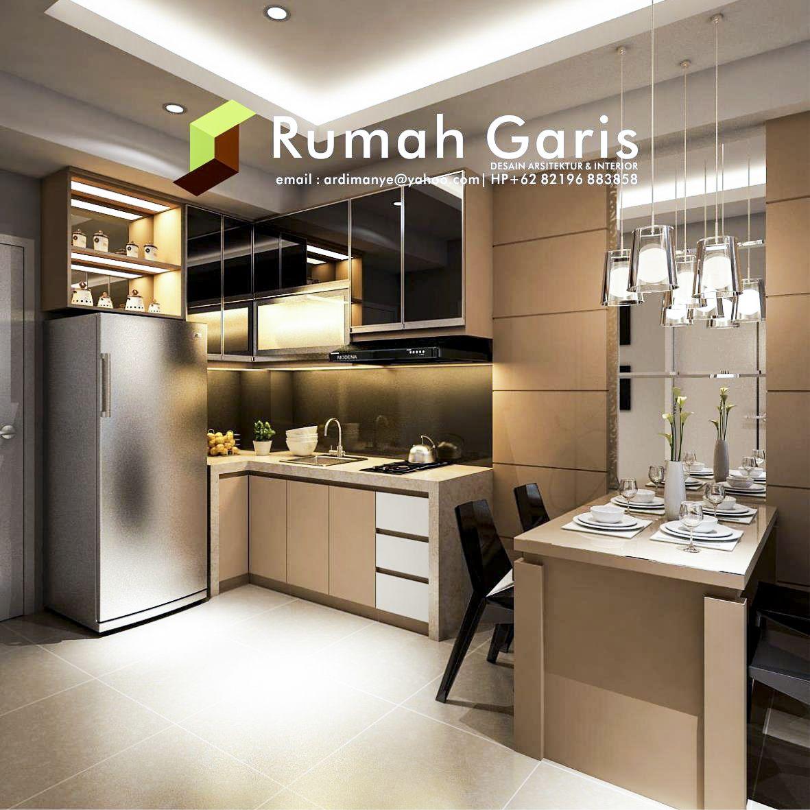 Desain Dapur Kitchen Set Interior Apartemen Konsep Klasik Modern Minimalis Mewah Master Bedroom