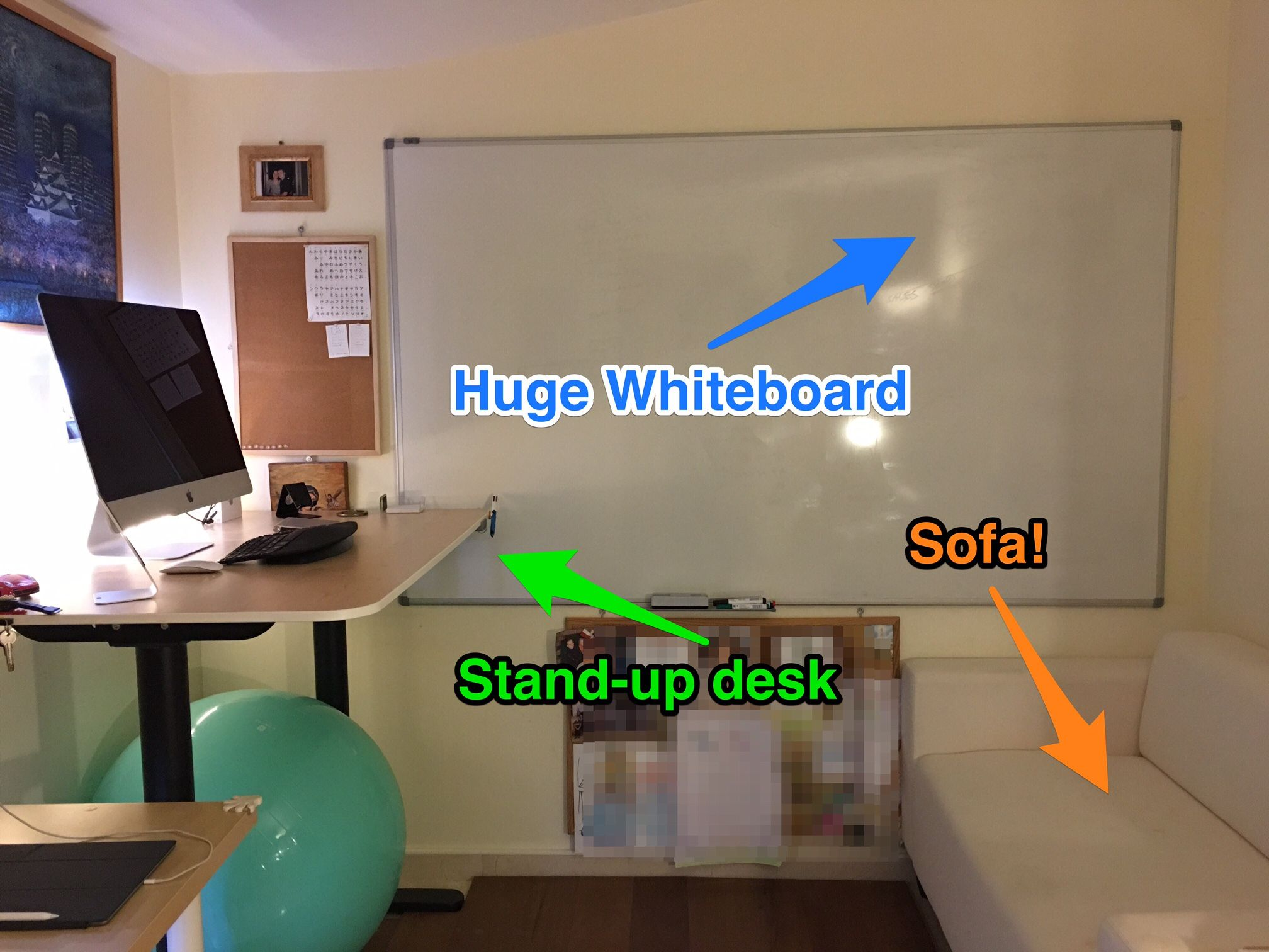 home office whiteboard. Home Office 2016 Whiteboard O