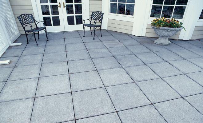 12 square patio stone pavestone