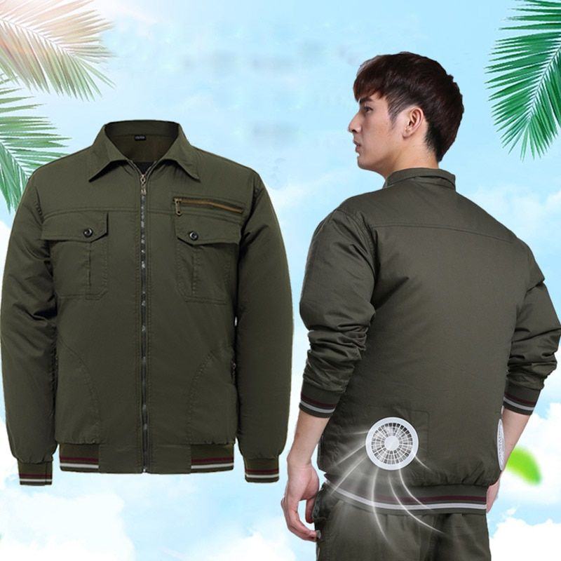 Air Conditioning Clothes Fan Clothing Cooling Jackets Outdoor High