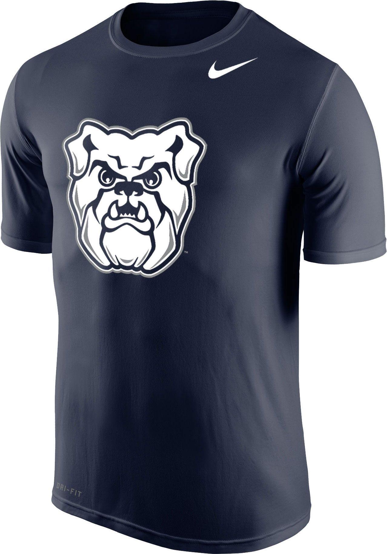 Nike Men's Butler Bulldogs Blue Logo Legend T Shirt   Nike