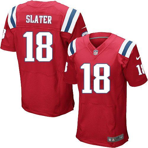 NFL New England Patriots Elite Matthew Slater #18 Jersey   Limited ...