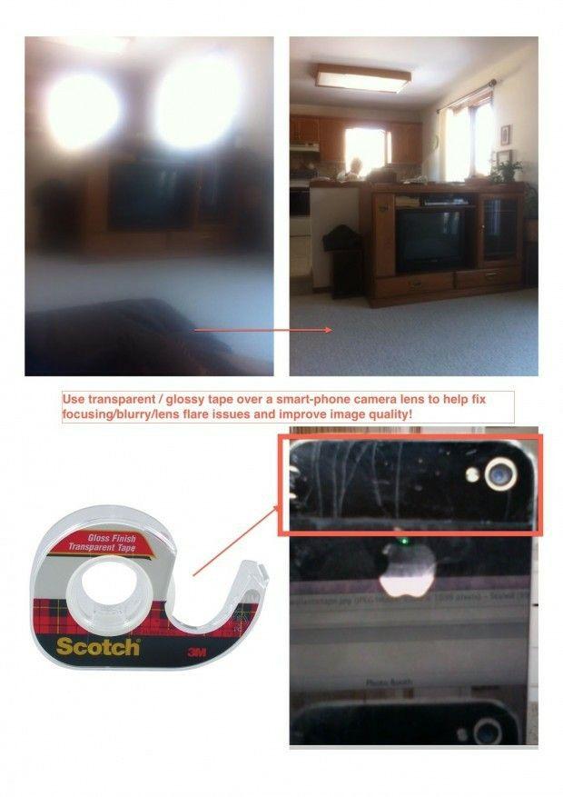 Réparer l'appareil-photo flou d'un téléphone