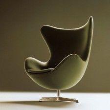 Egg Chair Stof.Pin Op Veranda