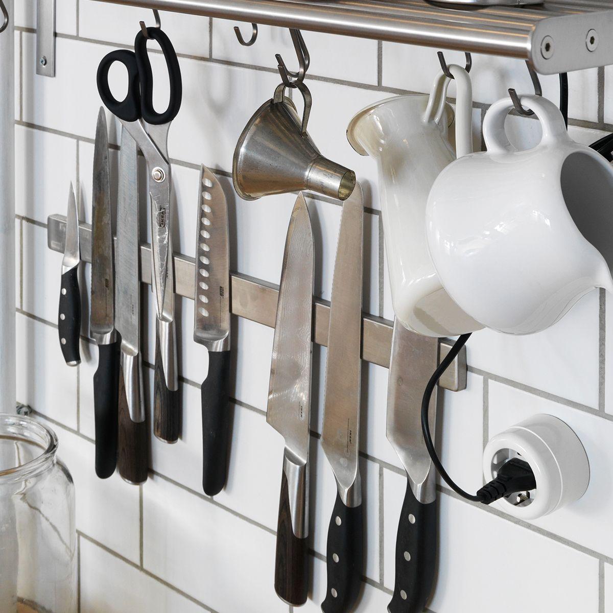Grundtal Magneetlijst Ikea Ikeanl Keuken Messenlijst Messen