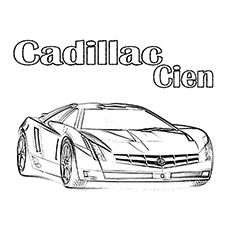 printable coloring pages of cadillac - photo#17