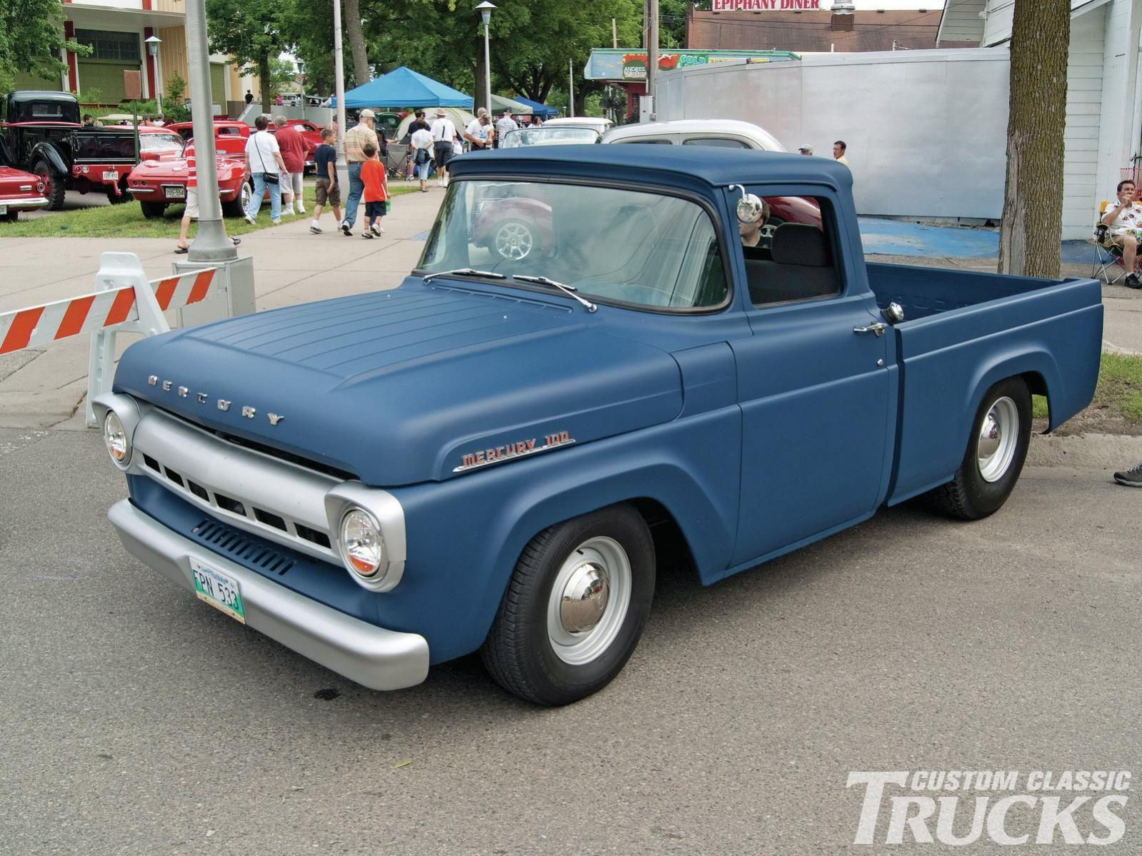 1957 60 mercury m 100 pickup