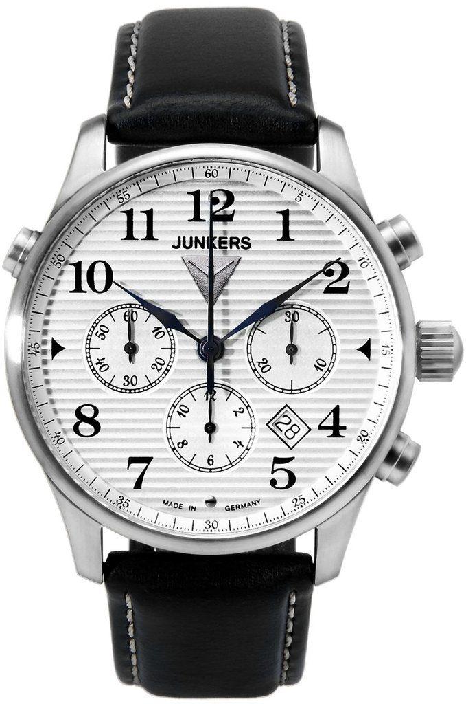 Junkers Watch Iron Annie JU52 #2015-2016-sale #bezel-fixed #black ...