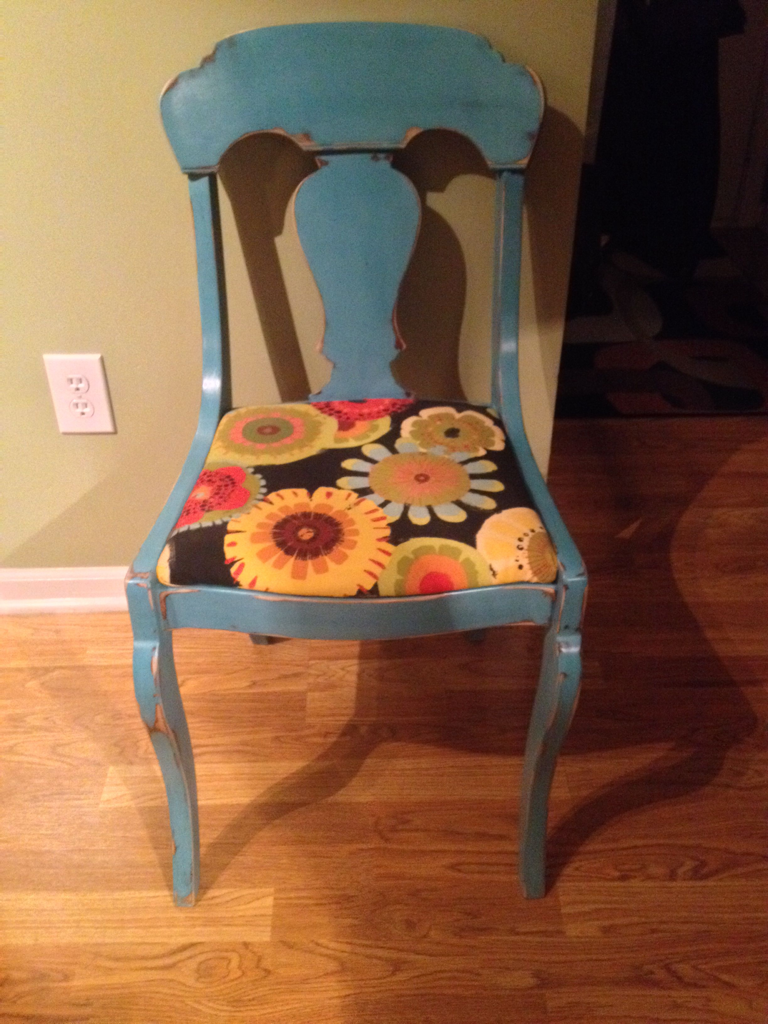 Antique Tell City Chair Makeover Via Fishers Vintage Revival 45
