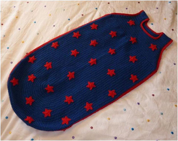 Crochet Pattern Baby Toddler Child Sleeping Bag Baby