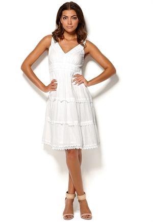 knälånga klänningar online