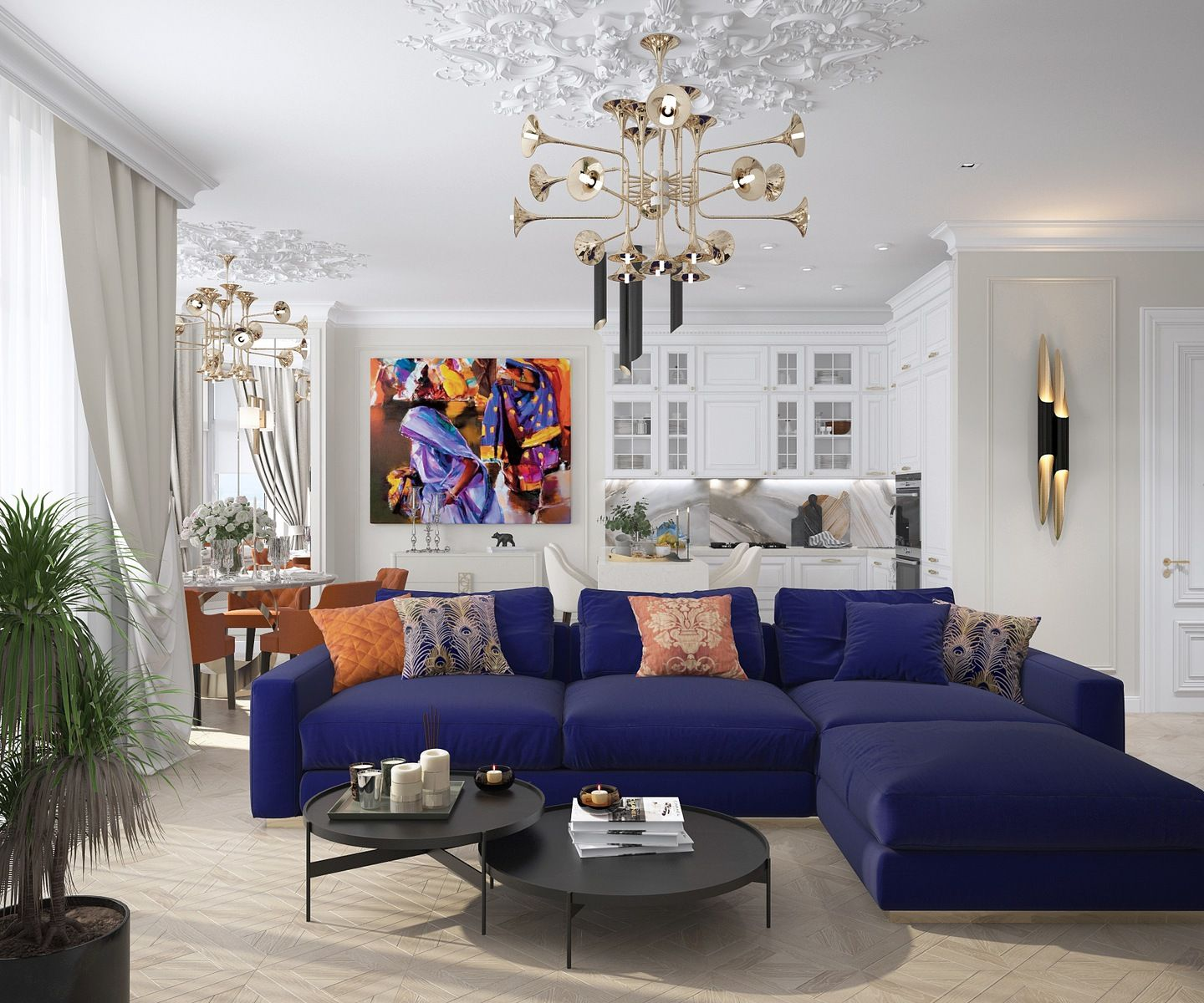 Inna azorskaya luxury elegant and beautiful living room with purple sofa best top famous luxurious exclusive high end interior designers for more decor also