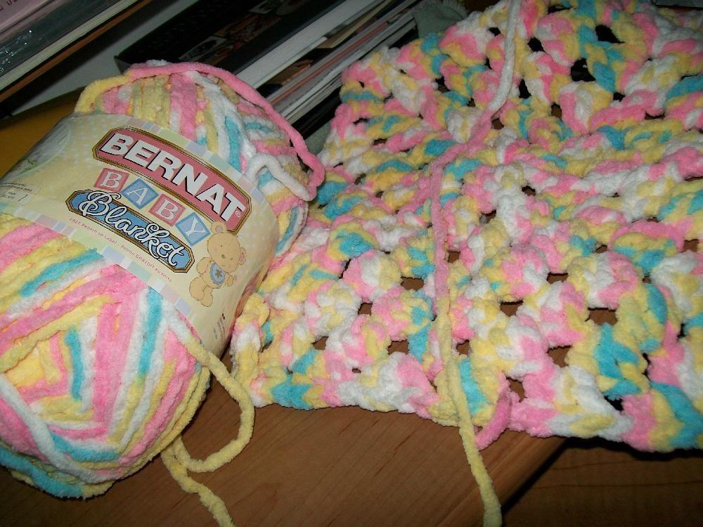 beginner crochet baby blanket bulky yarn Blogged under