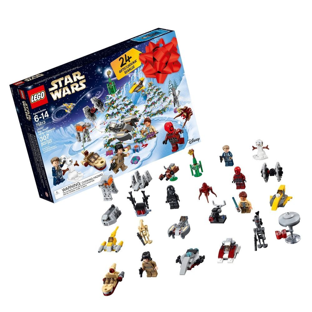 Lego 6213564 Star Wars Advent Christmas Countdown Calendar 75213