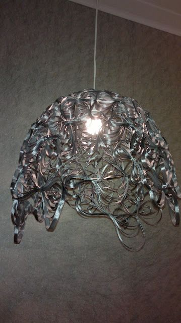 """Vihdoin valmista: Lampunvarjostinprojekti """"inspired by"""" Christopher LaBrooyn Marble   Taloja ja Toiveita"""