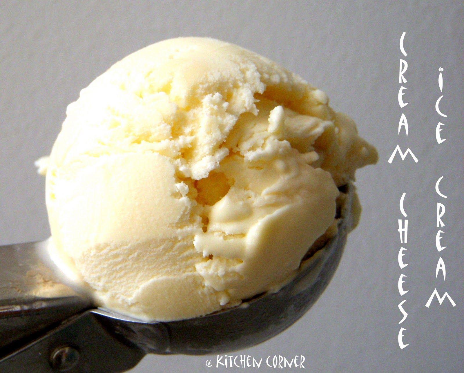 Cream Cheese Ice Cream #cheesecakeicecream