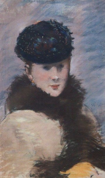 Картинки по запросу edouard manet portrait pastel
