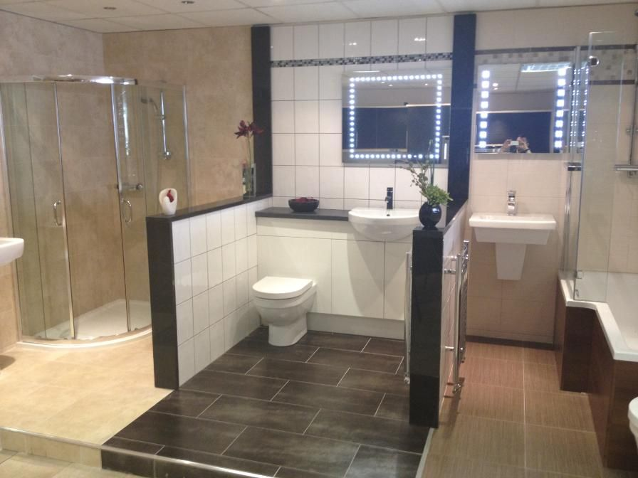 breathtaking showroom bathrooms. bathroom displays in the south shields showroom