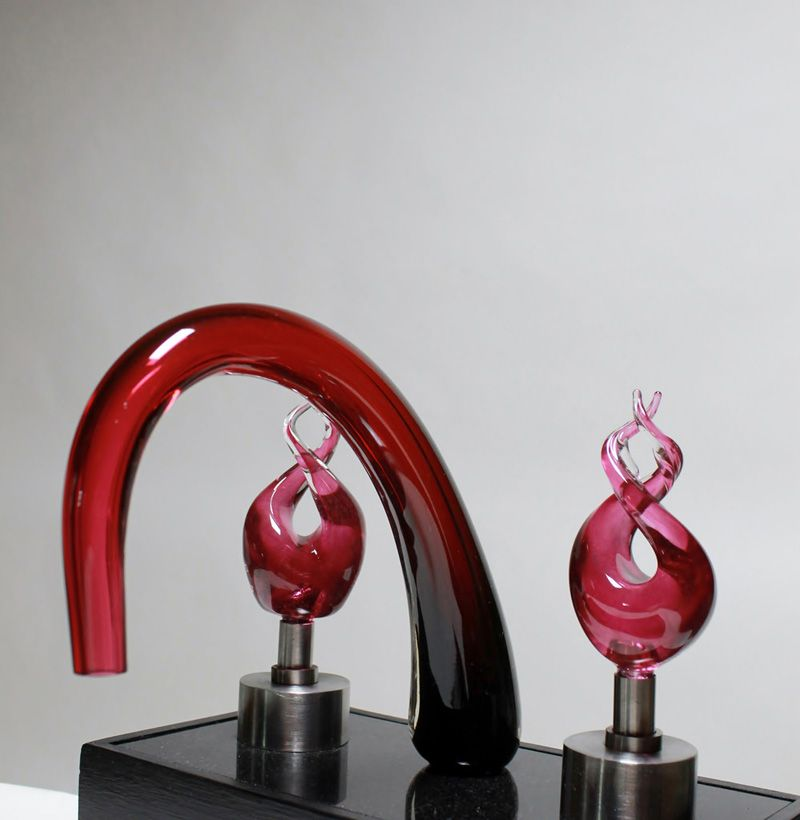 glass faucets the most expensive