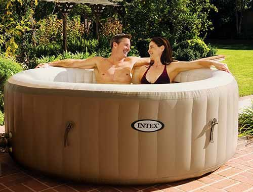 die besten 25 whirlpool outdoor aufblasbar ideen auf pinterest camping handwasch station sat. Black Bedroom Furniture Sets. Home Design Ideas