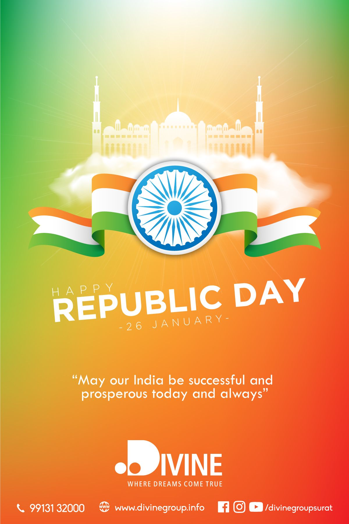 May our India be successful and prosperous today and