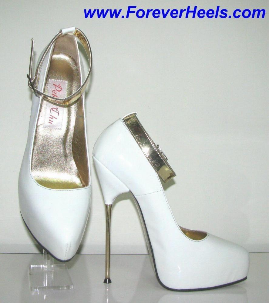 739ecaa1e23 Peter Chu Shoes 6 Inch Heels Forever (ForeverHeels.com) - LOLITA  Handmade