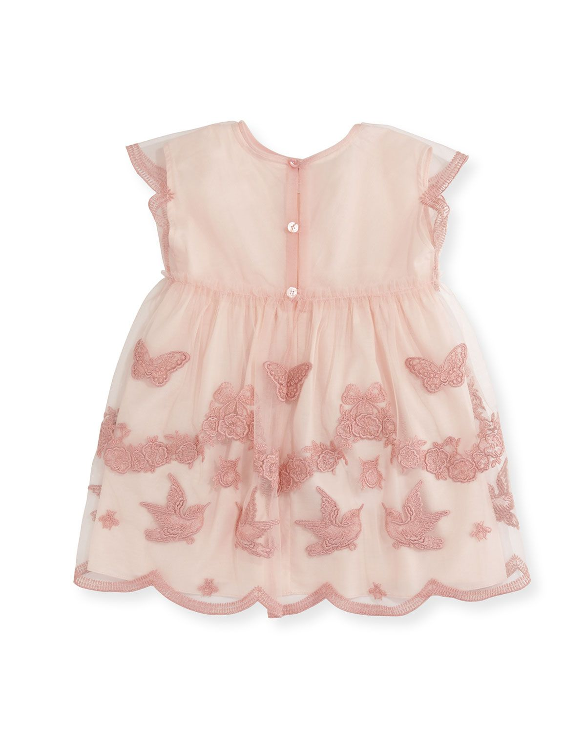 3f375eafd Tulle Embroidery Dress Size 9-36 Months | Products | Dresses ...