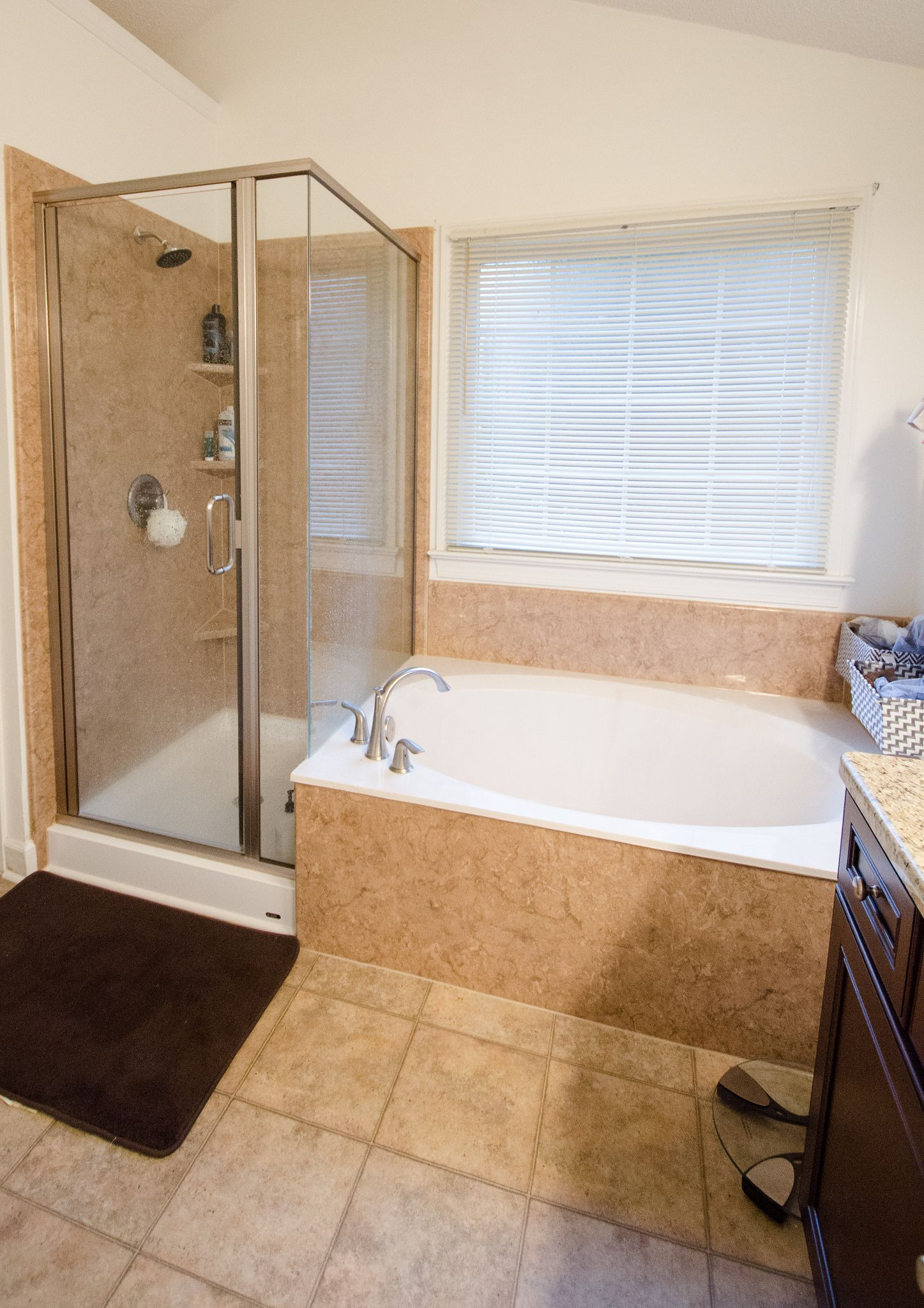 Bathroom Remodel By Re Bath Of The Triad New Tile Flooring Bathtub Replacement