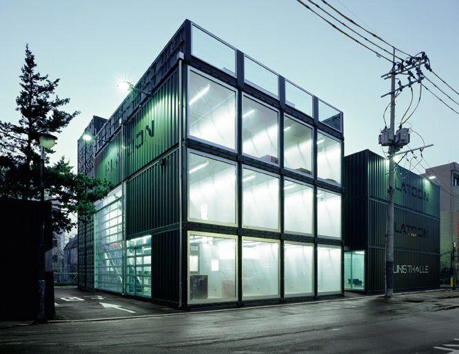 platoon kunsthalle platoon graft architects - Seecontainerhuser Wa
