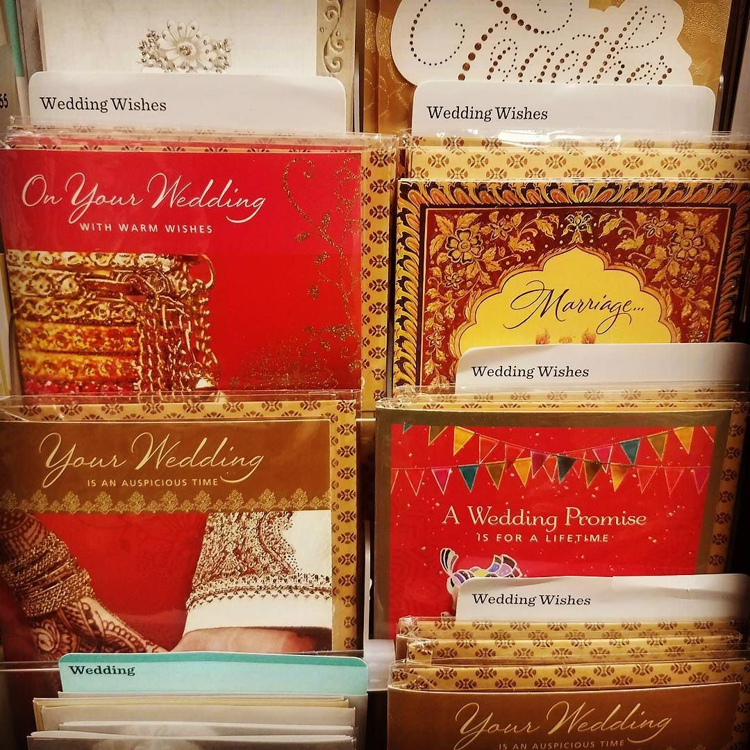 Came across these Indian wedding cards @Hallmark yesterday. #cards ...