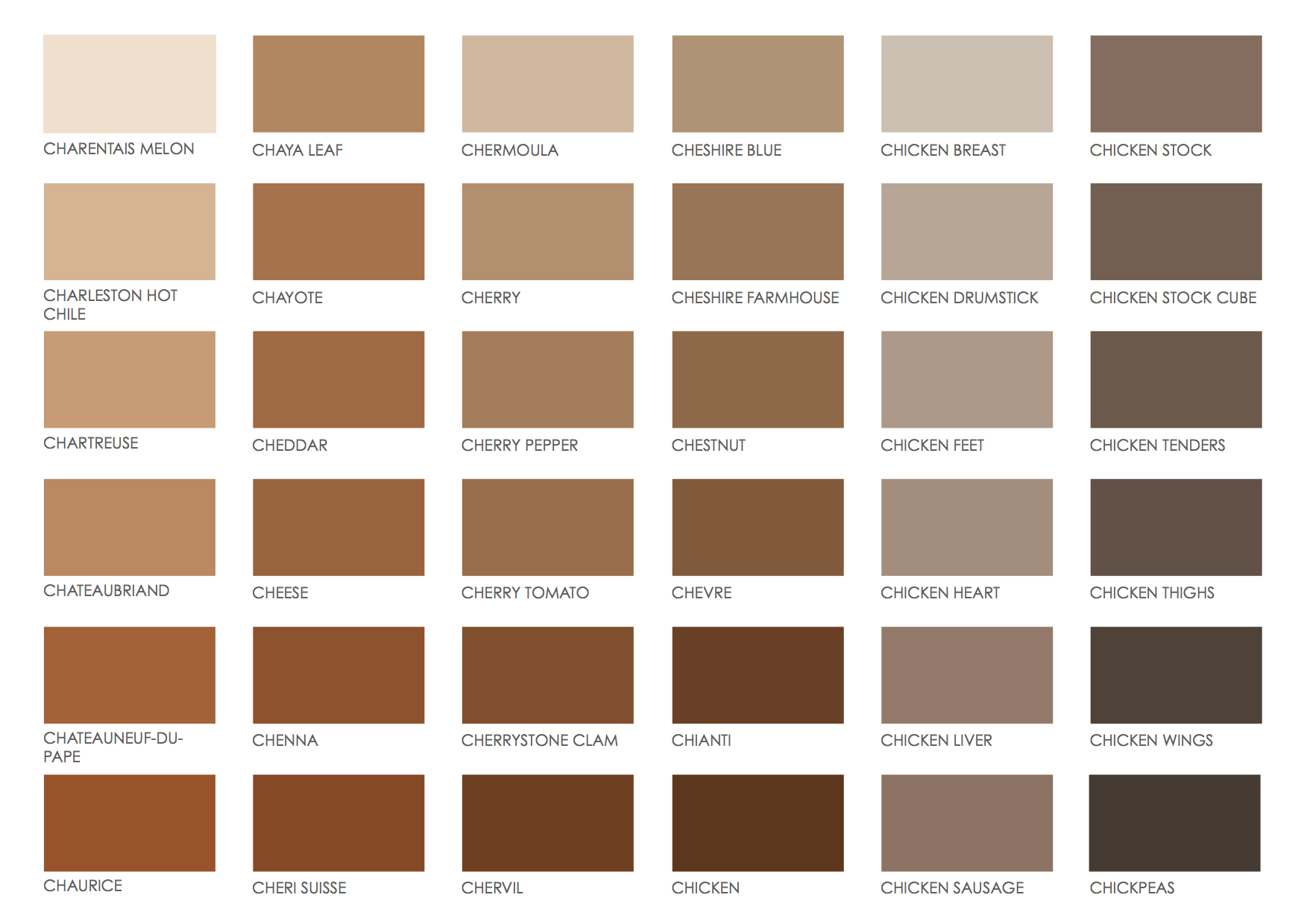 Image Result For Pantone Name Brown Colors
