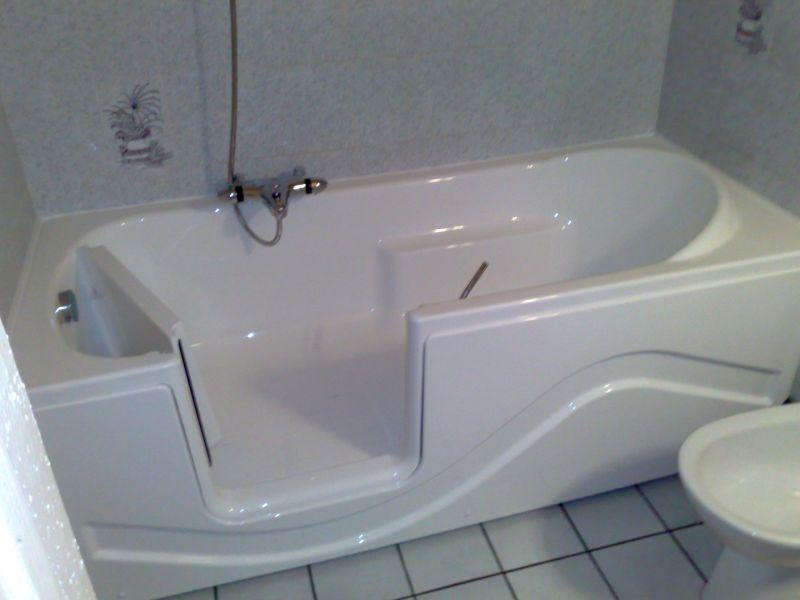 ordinaire baignoire à porte lyon