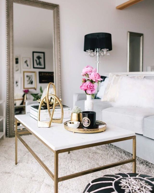 Gold Coffee Table Ornaments: Pin By Kim Stein On Decor & Design