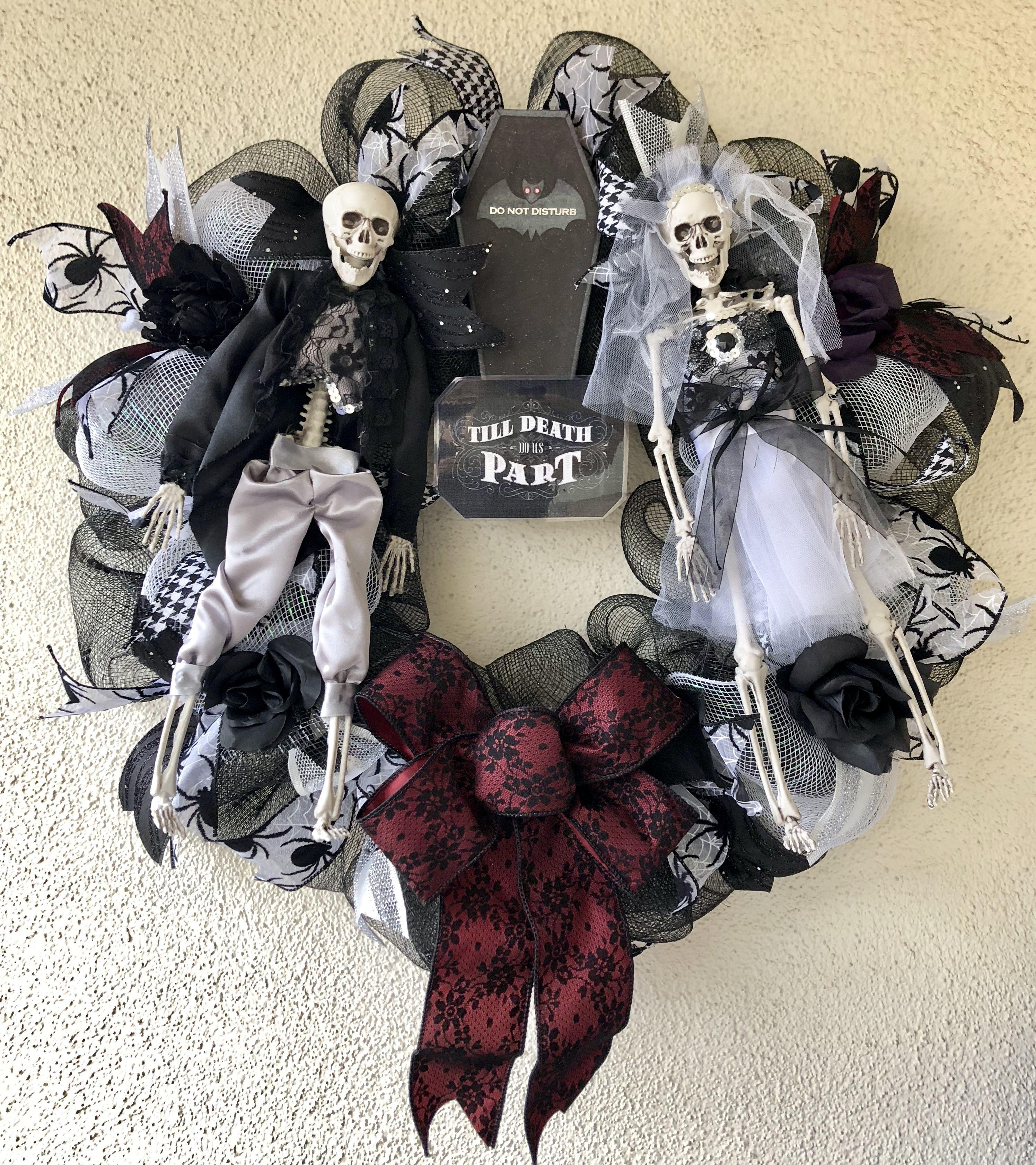Till Death Do Us Part Wreath Shipped To Philadelphia Pennsylvania