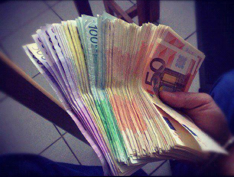 money, euro, and rich image | Money pictures, Money cash, Money bill